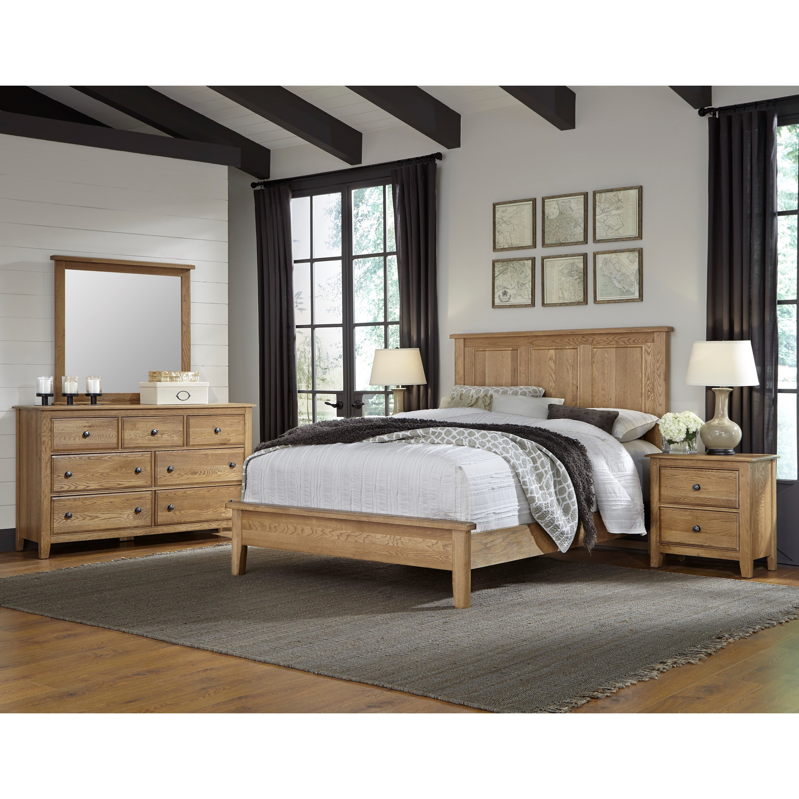 Artisan & Post Artisan Choices Queen Bedroom Group - Item Number: 105 Q Bedroom Group 1