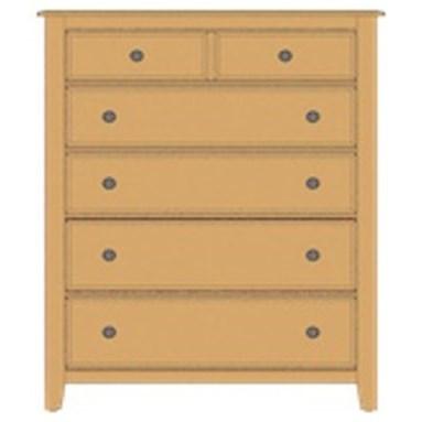Artisan & Post Artisan Choices Loft Chest - 5 Drawers - Item Number: 105-115