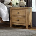 Artisan & Post Artisan Choices Loft Night Stand - 2 Drawers - Item Number: 105-227