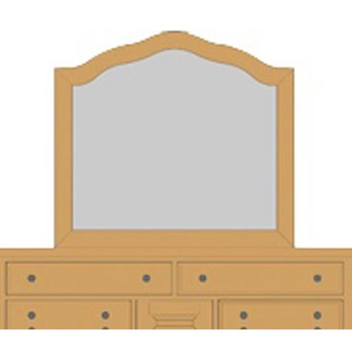 Artisan & Post Artisan Choices Villa Arched Mirror - Item Number: 105-442