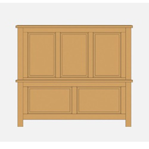 Artisan & Post by Vaughan Bassett Artisan Choices Queen Panel Bed - Item Number: 105-559+955+922