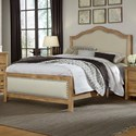 Artisan & Post Artisan Choices King Upholstered Bed - Item Number: 105-661+166+933+MS2