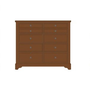 Artisan & Post Artisan Choices Villa Media Dresser - 8 Drawers