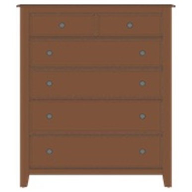 Artisan & Post Artisan Choices Loft Chest - 5 Drawers - Item Number: 106-115