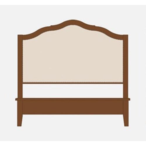 Queen Upholstered Headboard w/ Low Footboard