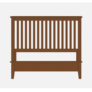 Artisan & Post by Vaughan Bassett Artisan Choices Queen Slat Bed with Low Profile Footboard