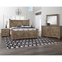 Artisan & Post Cool Rustic Queen Bedroom Group - Item Number: 172 Queen Bedroom Group 1