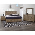 Artisan & Post Cool Rustic Queen Bedroom Group - Item Number: 172 Queen Bedroom Group 2