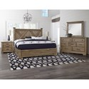 Artisan & Post Cool Rustic Queen Bedroom Group - Item Number: 172 Queen Bedroom Group 3