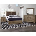 Artisan & Post Cool Rustic Queen Bedroom Group - Item Number: 172 Queen Bedroom Group 4