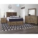 Artisan & Post Cool Rustic Queen Bedroom Group - Item Number: 172 Queen Bedroom Group 5