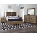 Artisan & Post Cool Rustic Queen Bedroom Group - Item Number: 172 Queen Bedroom Group 6