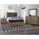 Artisan & Post Cool Rustic Queen Bedroom Group - Item Number: 172 Queen Bedroom Group 7