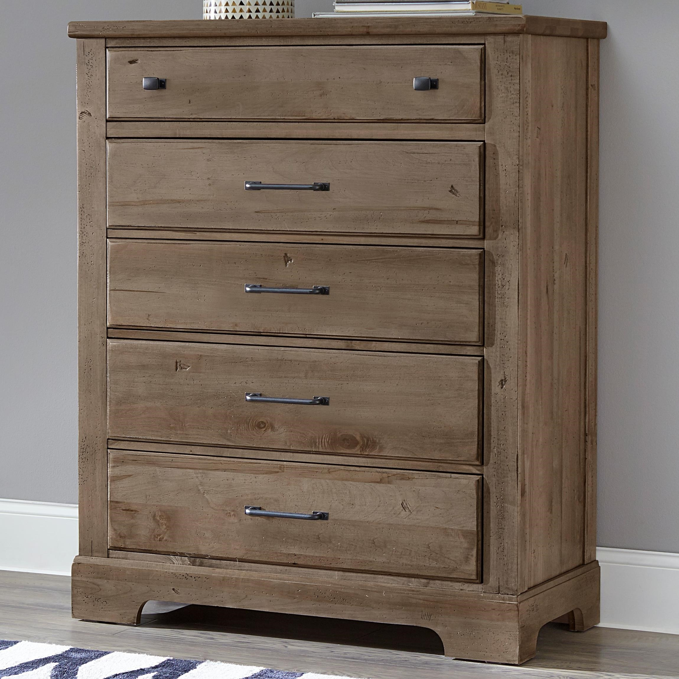 Coolest Bedroom Furniture: Artisan & Post Cool Rustic 172-115 Solid Wood 5 Drawer