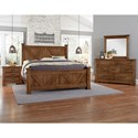 Artisan & Post Cool Rustic Queen Bedroom Group - Item Number: 174 Queen Bedroom Group 1