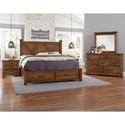 Artisan & Post Cool Rustic Queen Bedroom Group - Item Number: 174 Queen Bedroom Group 2