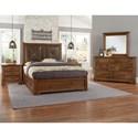 Artisan & Post Cool Rustic Queen Bedroom Group - Item Number: 174 Queen Bedroom Group 7