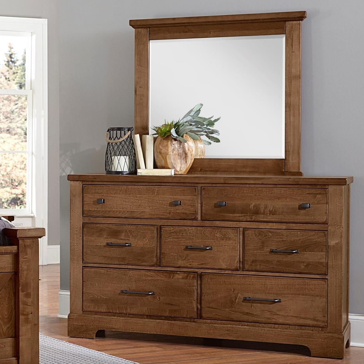 7 Drawer Dresser and Mirror