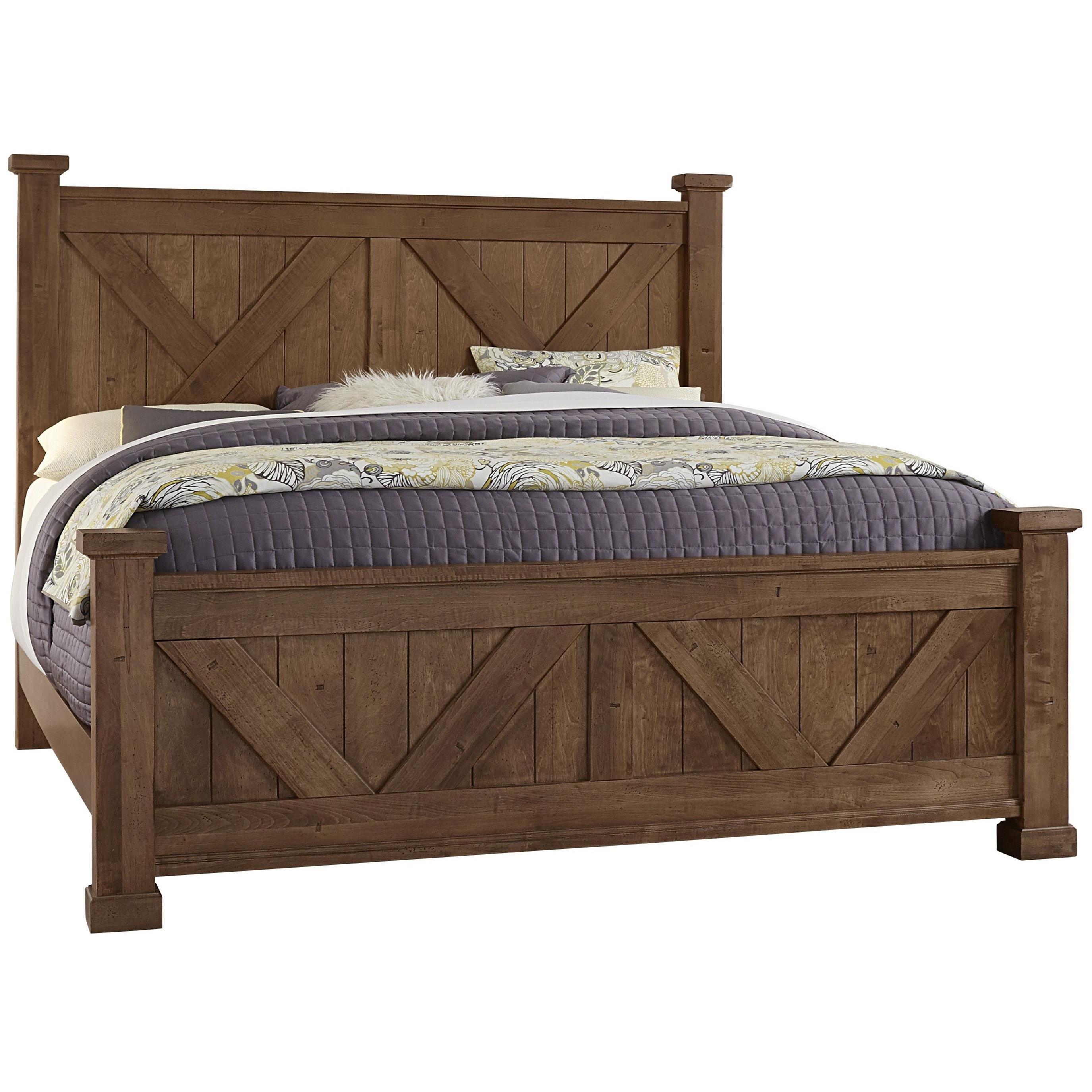 Queen Barndoor X Bed