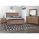 Artisan & Post Cool Rustic Queen Bedroom Group  - Item Number: 175 Q Bedroom Group 9