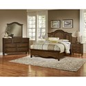 Artisan & Post Hamptons Solid Wood King Mansion Bed