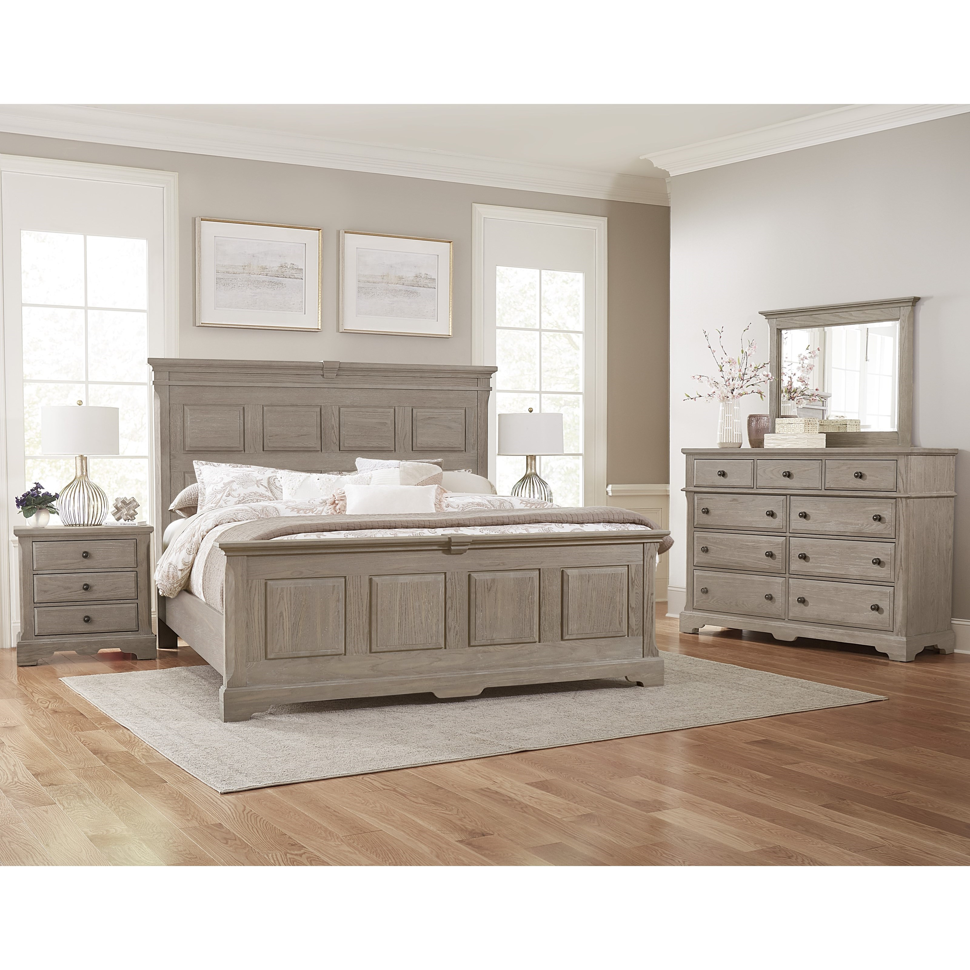 Heritage King Bedroom Group by Artisan & Post at Northeast Factory Direct