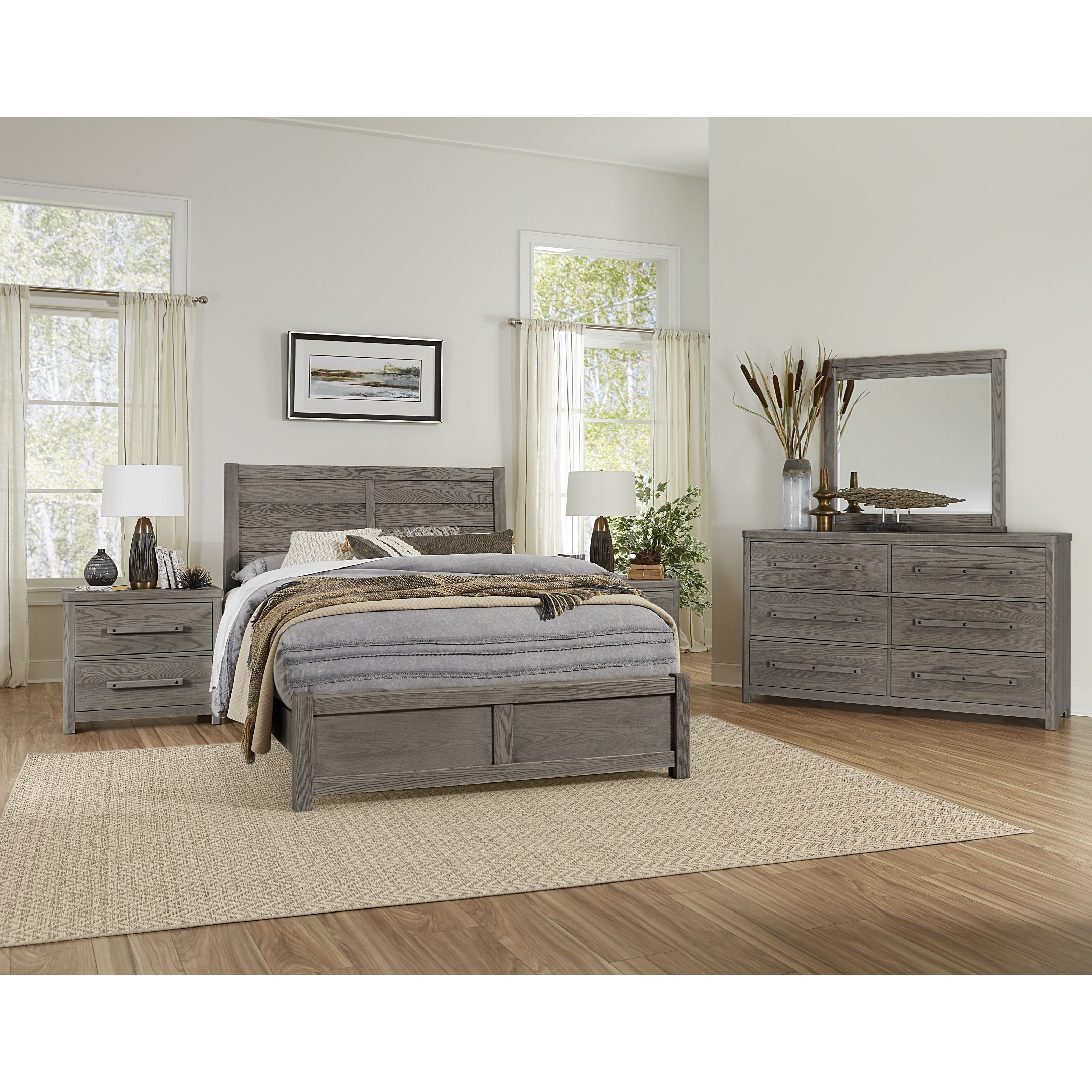 Latitudes Queen Bedroom Group by Artisan & Post at Esprit Decor Home Furnishings