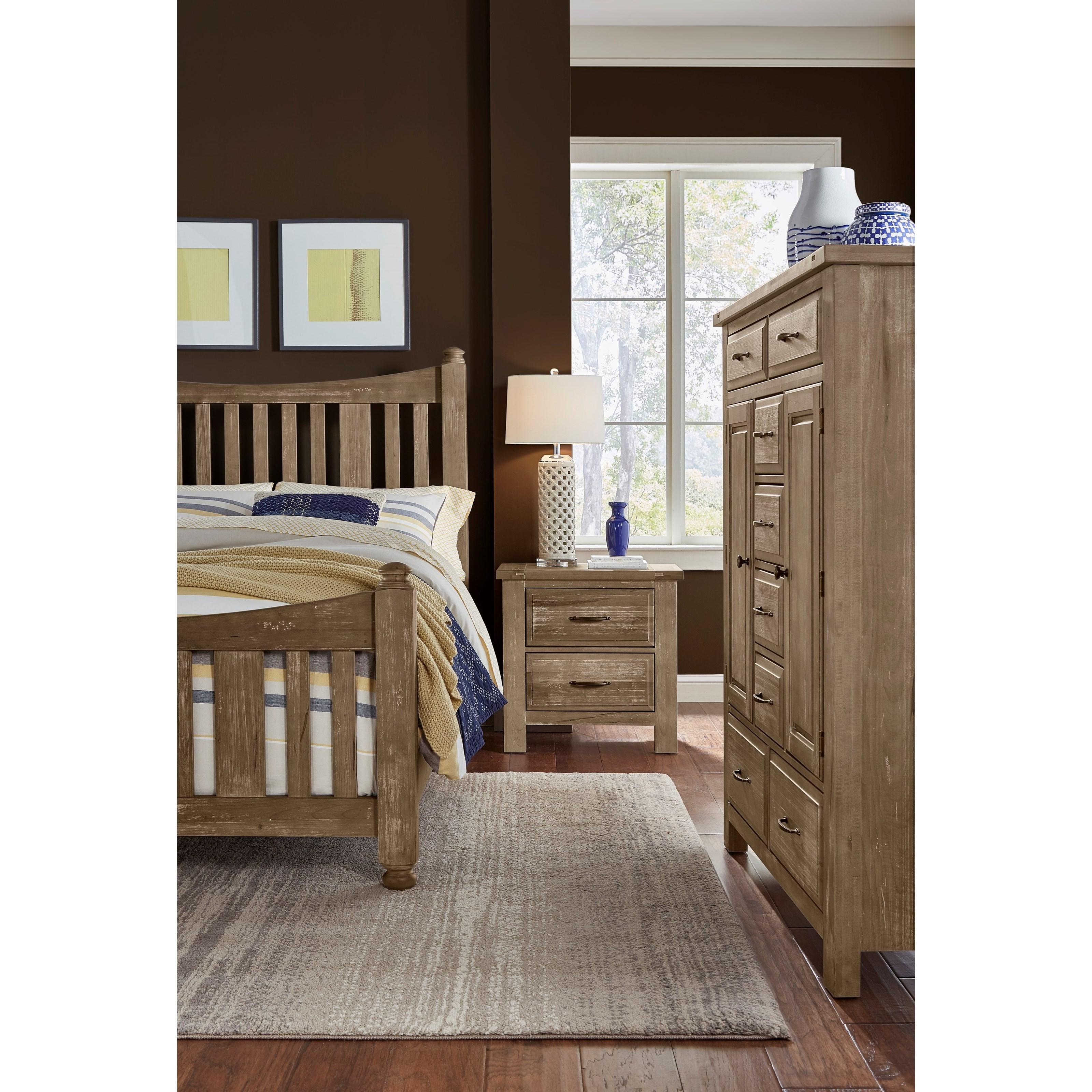 Artisan & Post Maple Road Queen Bedroom Group - Item Number: 115 Q Bedroom Group 4