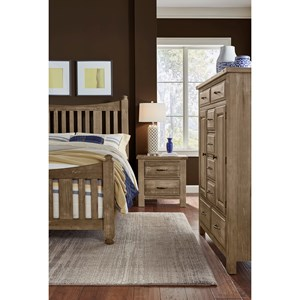 Artisan & Post by Vaughan Bassett Maple Road Queen Bedroom Group