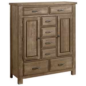 Artisan & Post by Vaughan Bassett Maple Road Sweater Chest - 8 Drawers 2 Doors