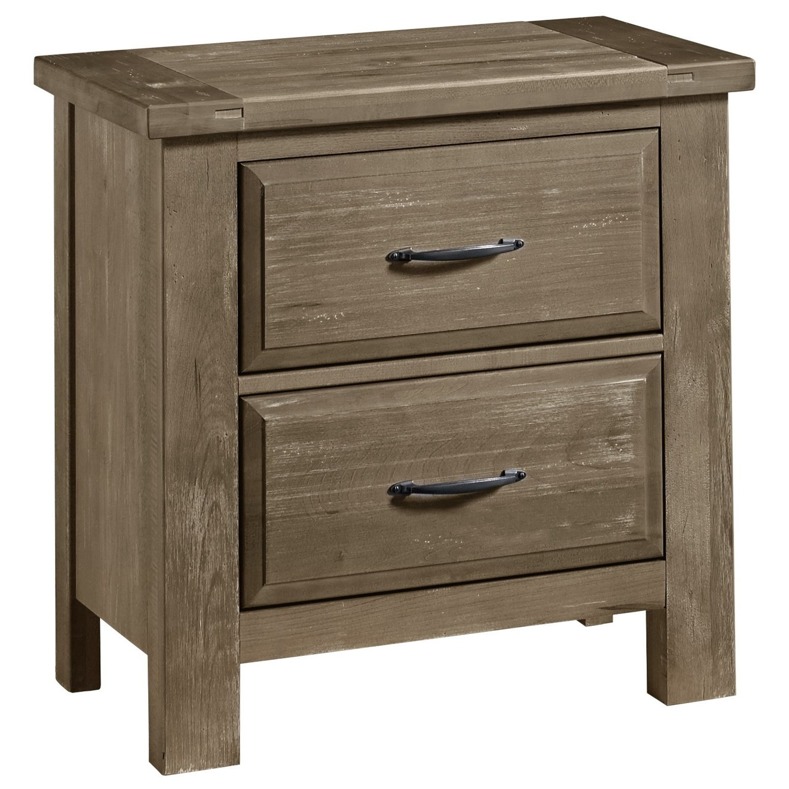 Artisan & Post Maple Road Night Stand - 2 Drawers - Item Number: 115-227