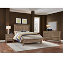 Artisan & Post Maple Road Solid Wood King Mansion Bed