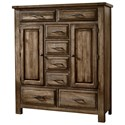 Artisan & Post Maple Road Sweater Chest - 8 Drawers 2 Doors - Item Number: 117-116