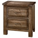 Artisan & Post Maple Road Night Stand - 2 Drawers - Item Number: 117-227