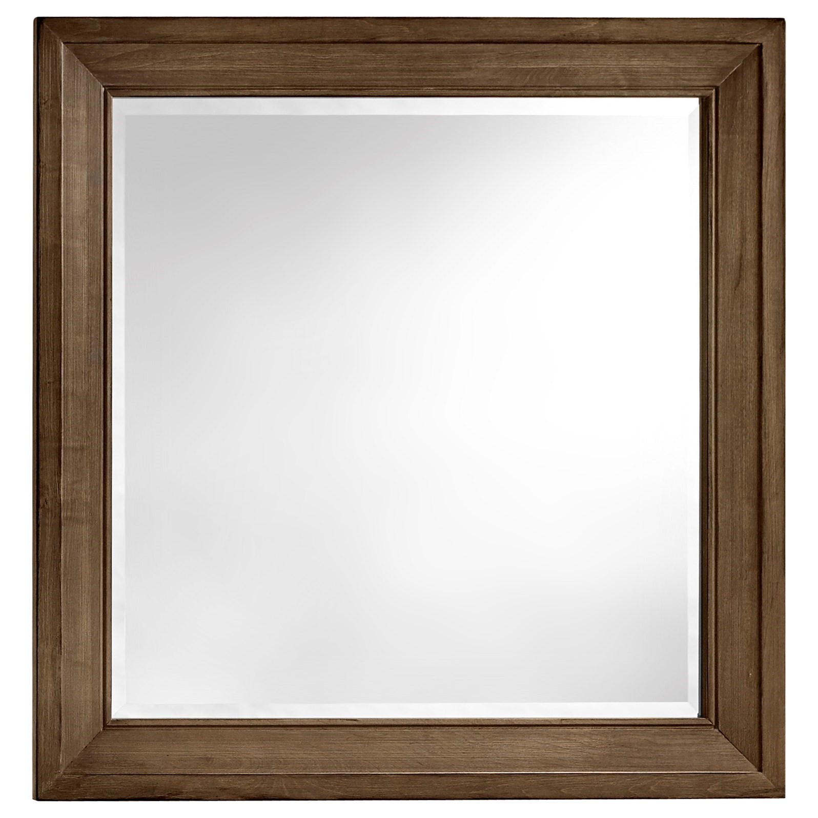 Artisan & Post Maple Road Landscape Mirror - Beveled glass - Item Number: 117-446