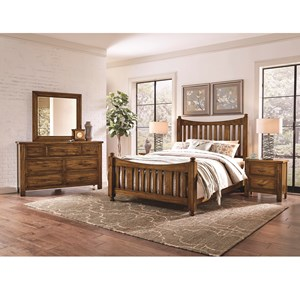 Artisan & Post Maple Road King Bedroom Group