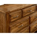 Artisan & Post Maple Road Solid Wood Triple Dresser - 7 Drawers