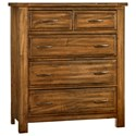 Artisan & Post Maple Road Solid Wood Chest - 5 Drawers