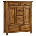 Artisan & Post Maple Road Sweater Chest - 8 Drawers 2 Doors - Item Number: 118-116