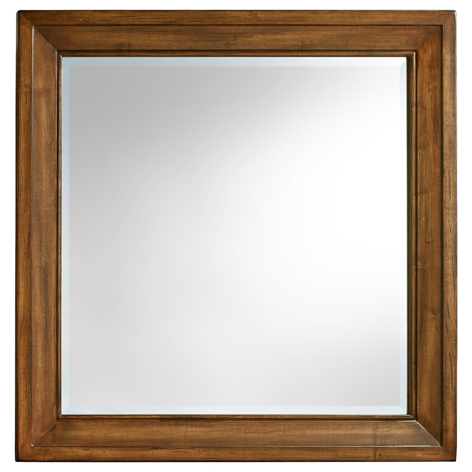 Artisan & Post by Vaughan Bassett Maple Road Landscape Mirror - Beveled glass - Item Number: 118-446