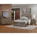 Virginia House Sedgwick Queen Bedroom Group - Item Number: 120 Q Bedroom Group 1