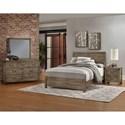 Virginia House Sedgwick Queen Bedroom Group - Item Number: 120 Q Bedroom Group 2