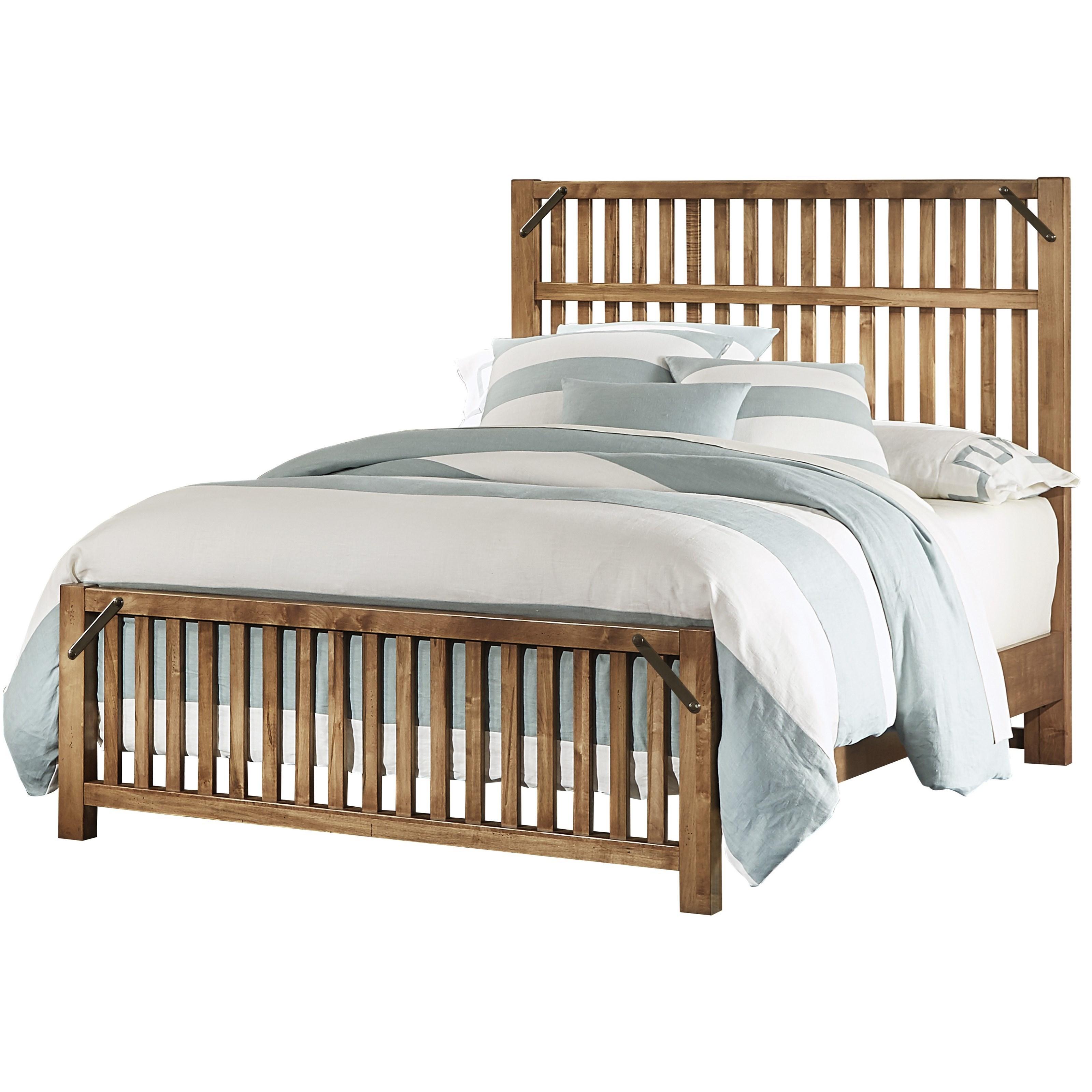Artisan & Post Sedgwick King Bed - Item Number: 122-668+866+933+MS2