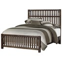 Virginia House Sedgwick King Bed - Item Number: 126-668+866+933+MS2
