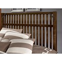Artisan & Post Sedgwick Rustic King Slat Bed with Metal Accents - Bed Shown May Not Represent Size Indicated
