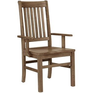 """""""Roll Top"""" Arm Chair"""