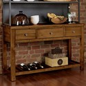 Artisan & Post Simply Dining-Maple Server - Item Number: 230-960