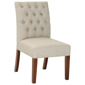 Artisan & Post Simply Dining Upholstered Side Chair (Light Fabric)