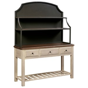 Artisan & Post Simply Dining Server & Metal Hutch