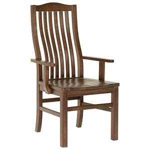 Artisan & Post Simply Dining Vertical Slat Arm Chair